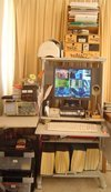 Photo: Luke Cole's Computer Network 2007 - Work station