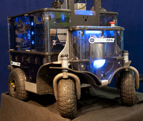 Scotty Mobile Robot at Brisbane Mechanical and Safety Expo 2011