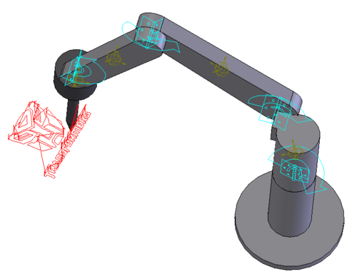 3D CAD for Scorbot Manipulator